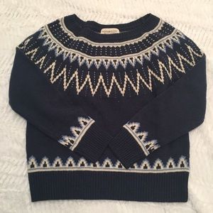 Ralph Lauren Nordic denim & Supply Sweater Navy M